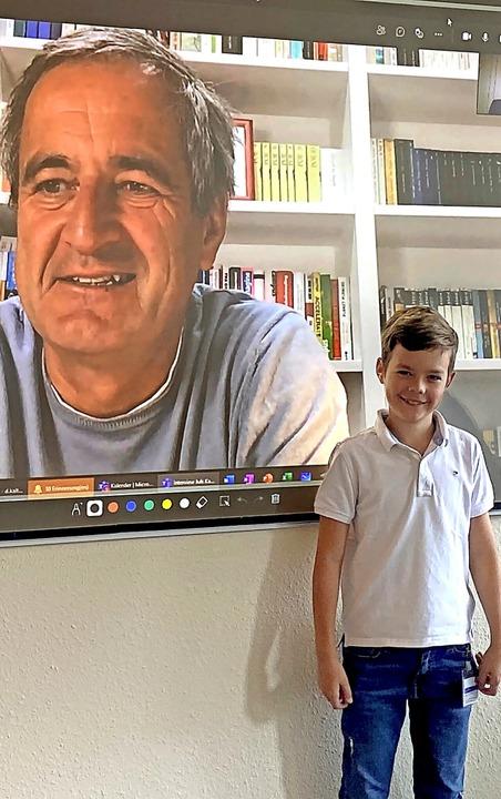 Juls Kalt hat das Videointerview mit F...Niederlassung in Rheinhausen geführt.   | Foto: Privat