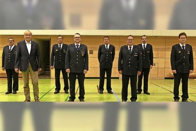 Feuerwehrkommandanten bestätigt