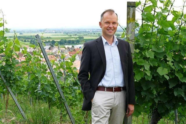 Rundgang mit dem Bürgermeister-Kandidaten Chris-Robert Berendt