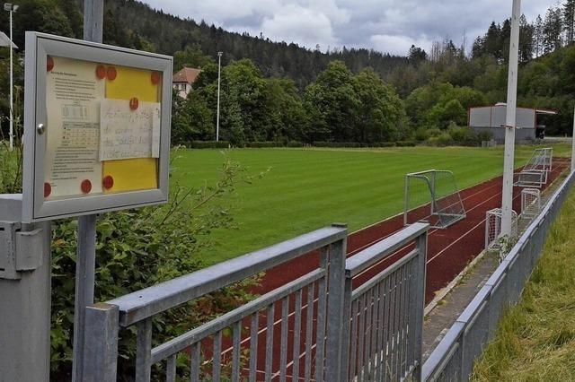 Der Sportplatz wird verlegt