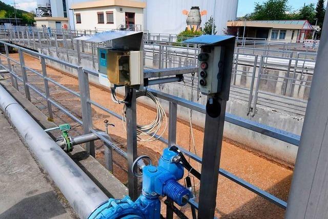 Zehn Kläranlagen im Kreis Lörrach sorgen für beinahe sauberes Wasser
