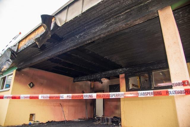 Kindergarten in Kappel-Grafenhausen kann nach Brand nicht mehr genutzt werden