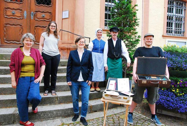 Katharina Bosch, Evelyn Friesen, Museu...ue Angebot im Elztalmuseum entwickelt.  | Foto: Dorothea Scherle