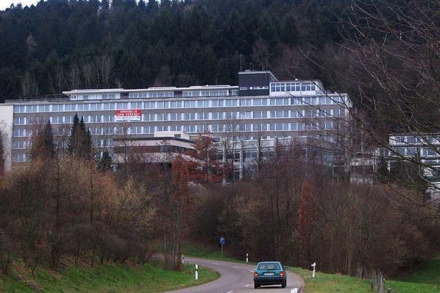 Herzkreislaufklinik Waldkirch: Ein Klotz, der mal beliebter Kur-Ort war
