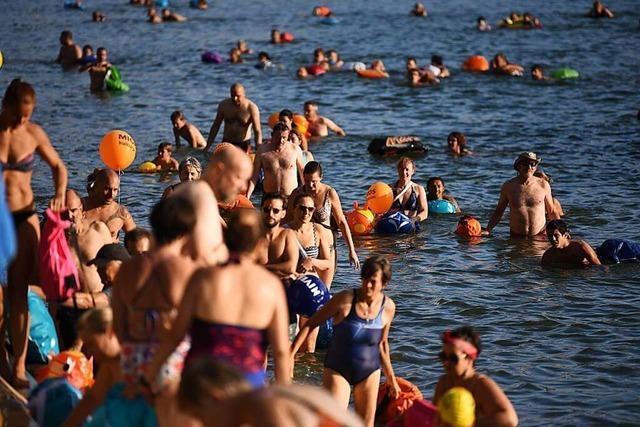 Schwimmen im Rhein ist für Weil kein Thema