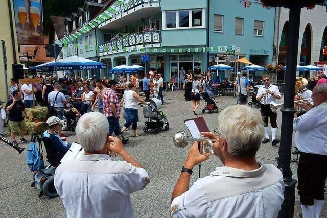 Naturparkmarkt in Elzach trotzt Corona