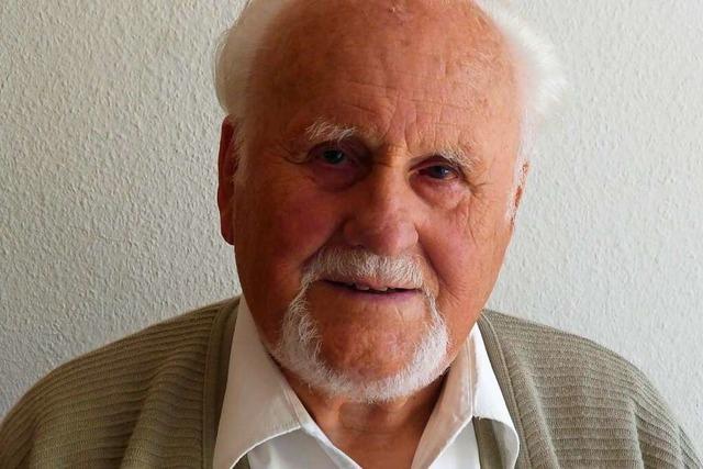 Wittnaus Ehrenbürger Otto Selb ist im Alter von 93 Jahren gestorben