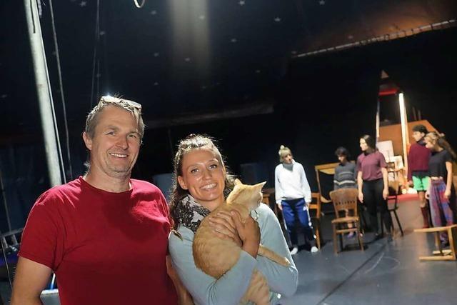 Der Cirque Intense bereitet sich in Neuenburg auf die Premiere vor