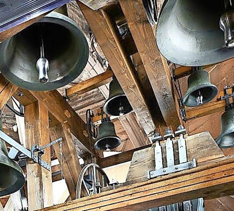 Blick in den Glockenstuhl  | Foto: Ingo Schneider