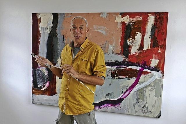 Der Maler und die Farben