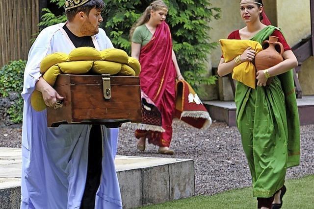 Das Emmendinger Theater im Steinbruch spielt das Kinderstück1001 Nacht