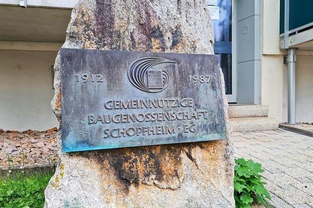 Kein lauter Protest gegen Mieterhöhungen bei der Baugenossenschaft Schopfheim