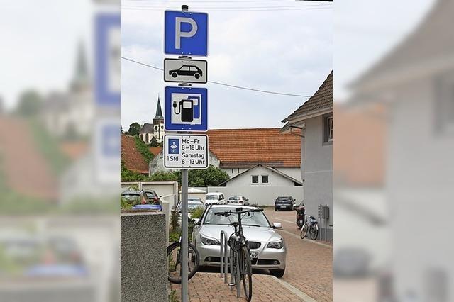 Parkregelungen werden geändert