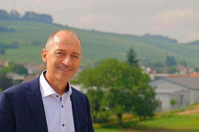 Rundgang mit dem Bürgermeister-Kandidaten Peter Danzeisen