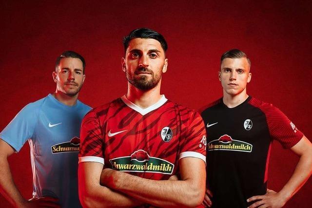 SC Freiburg stellt neue Trikots für die Saison 2021/22 vor