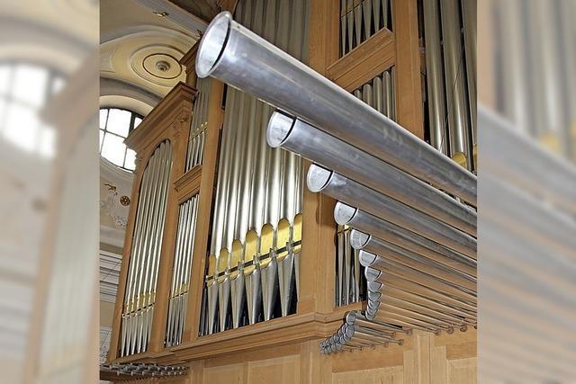 Zwei besondere Orgeln