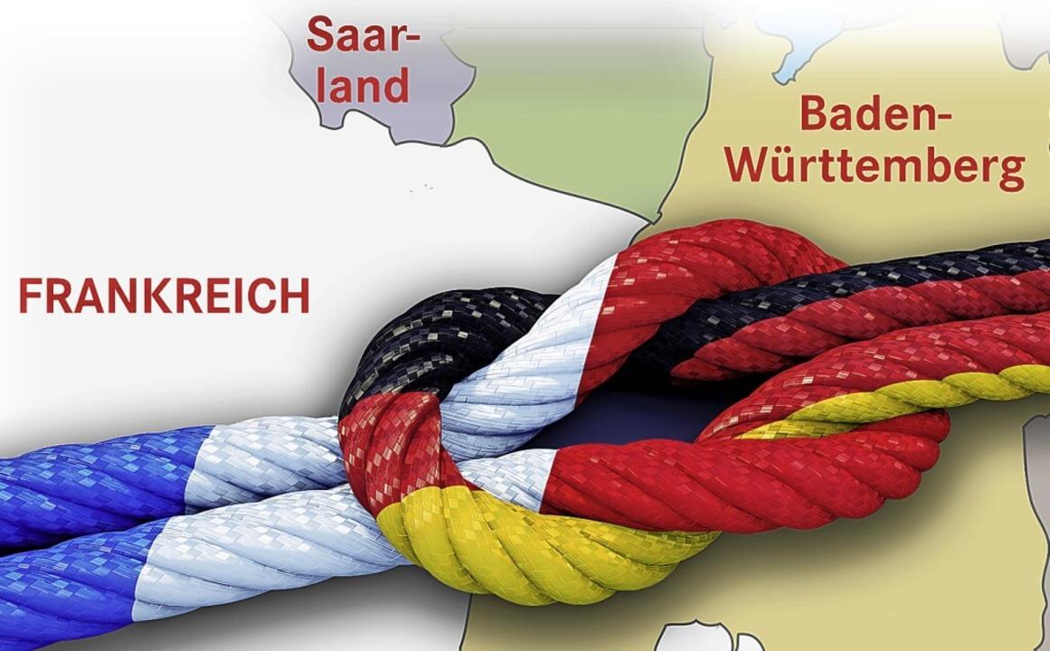 Die Freundschaft zwischen Lörrach und Sens hält auch virtuell.  | Foto: peterschreiber.media