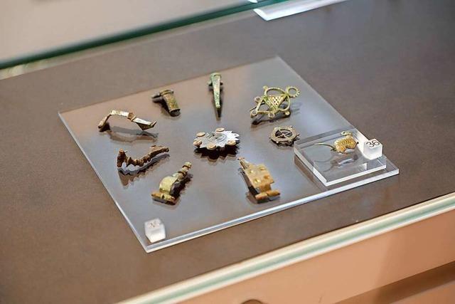 Die Römerfunde aus der Leopoldstraße sind im Stadtmuseum zu sehen