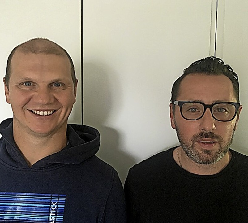 Denis Fries-Beckmann (links) und Benedetto Saulo sind Partner.    Foto: Saulo