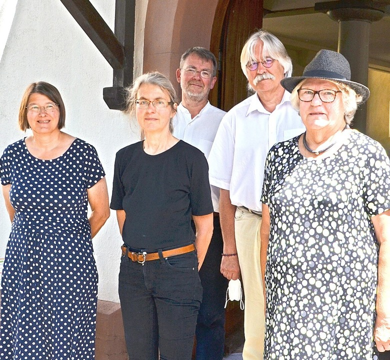 Gemeindeversammlung: Vorsitzende Andre...nert, Ulrich Röhr und Marietta Metzger  | Foto: Gabriele Rasenberger