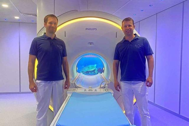 Neues MRT in der Radiologie am Zollhof mit Kinofeeling statt Platzangst