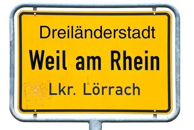 Bis Ende Juli soll die Zusatzbezeichnung für Weil am Rhein feststehen