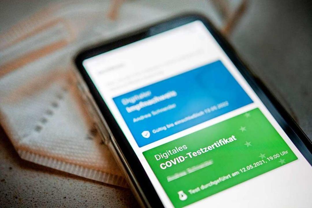 Das Impf Zertifikat In Der Corona App Ist Nur Vermeintlich Manipulierbar Deutschland Badische Zeitung