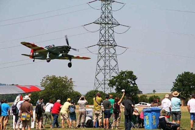 Wenn Flugschüler Notlandungen üben, kann es wie ein Notfall aussehen