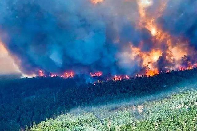 Feuer nach Hitzewelle – Kanadische Ortschaft fast ganz abgebrannt