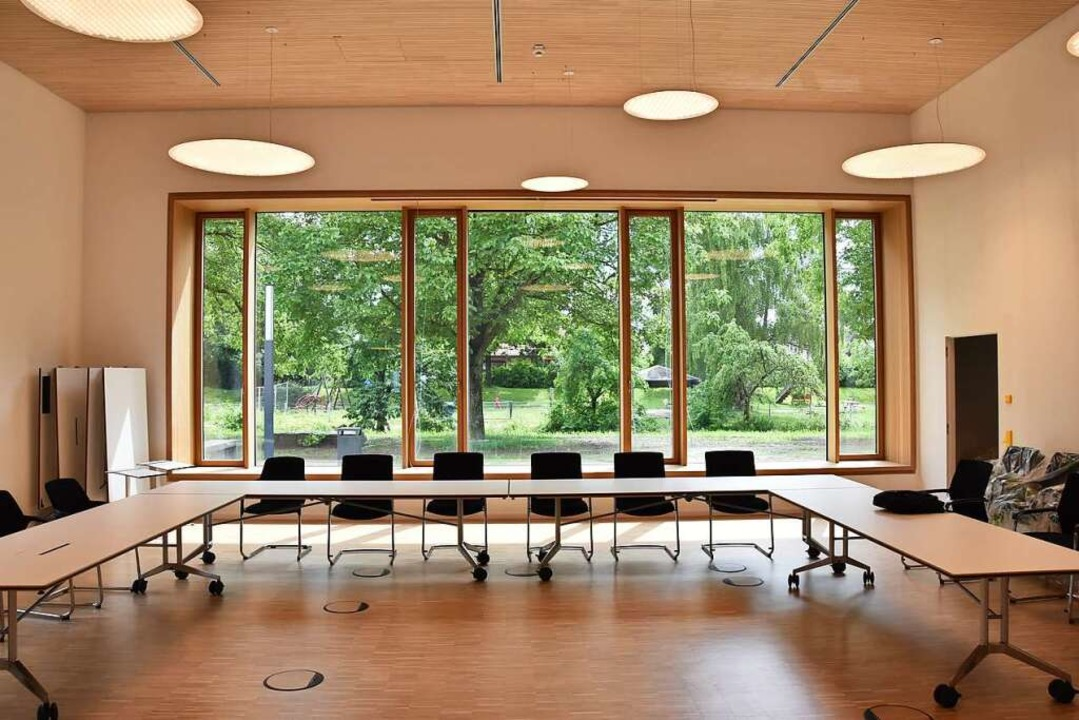Im Saal tagt künftig der Gemeinderat.    Foto: Sophia Hesser