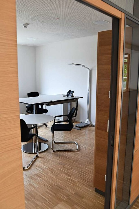 Blick in eines der Büros    Foto: Sophia Hesser