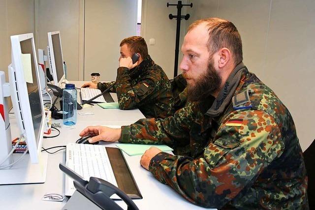 Bundeswehr beendet Corona-Einsatz im Gesundheitsamt Freiburg