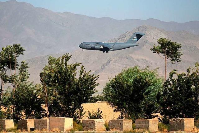 US-Vertreter: Alle Nato-Soldaten von Luftwaffenbasis Bagram in Afghanistan abgezogen