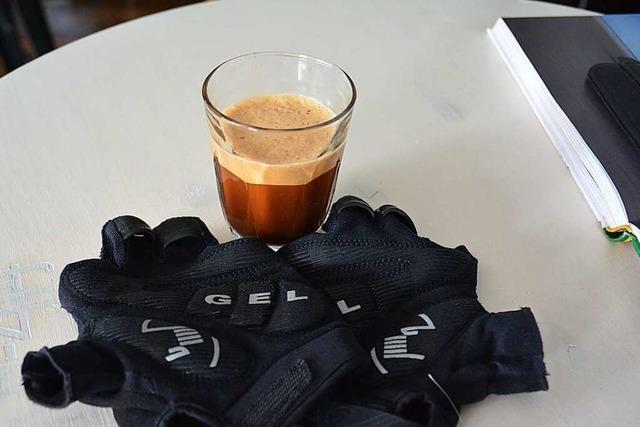 Bei Veloziped gibt es Café-Genuss zwischen Mountainbikes und Rennrädern