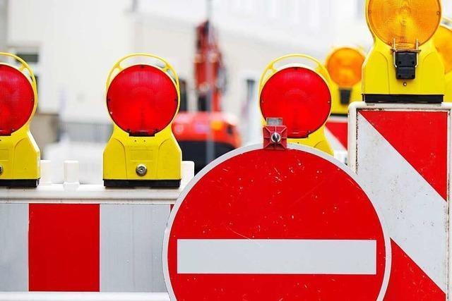 Bei der Sperrung der L 122 in Bollschweil wird der Verkehr weiträumig umgeleitet