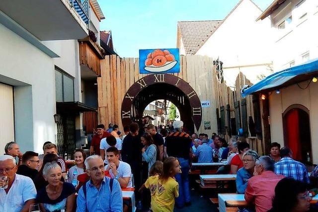 Das Elzacher Stadtfest 2021 findet nicht statt