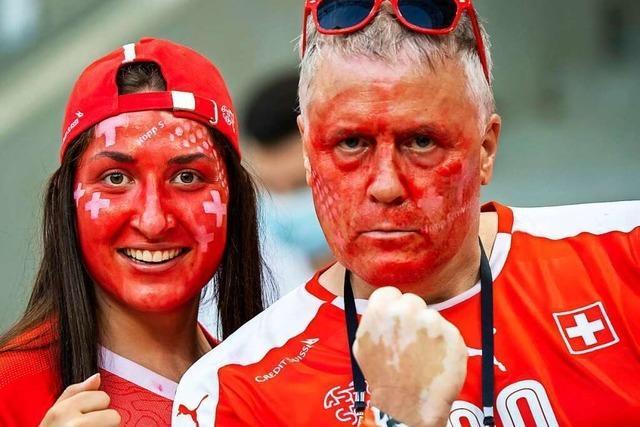 Wenn die Schweiz gegen Spanien gewinnt, ist in Basel Freinacht