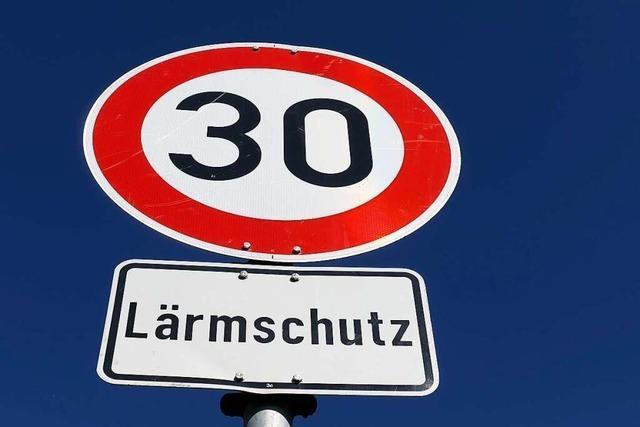 Das Regierungspräsidium sagt Ja zum Tempolimit in Degerfelden