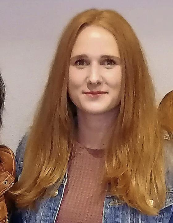 Zur neuen Kassiererin wurde Lisa Meßmer gewählt.    Foto: Stefan Kech