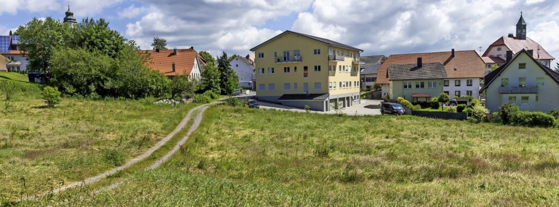 Nicht nur das Ärztezentrum, auch die g... neues Kindergartengebäude entstehen.     Foto: Wilfried Dieckmann