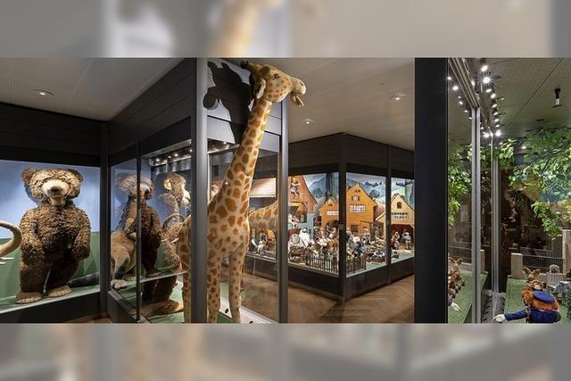 Spielzeug-Welten-Museum in Basel zeigt Steiff-Ausstellung