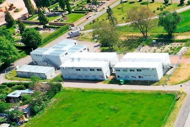 Die Gemeinschaftsunterkunft in Schopfheim soll bis 2022 bleiben
