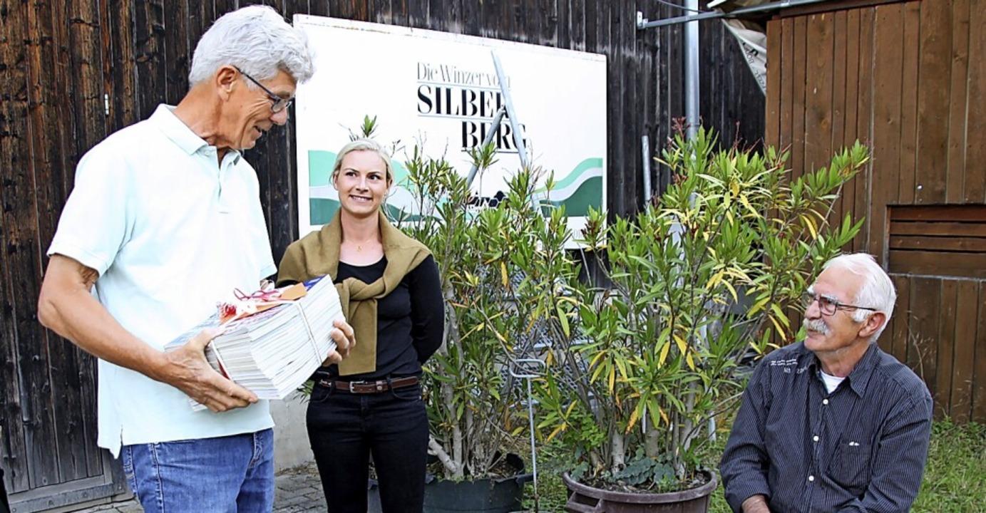 Nach mehr als 20 Jahren schied Claude ...r und Vize Sofia Hämmerle dankten ihm.  | Foto: Christiane Franz