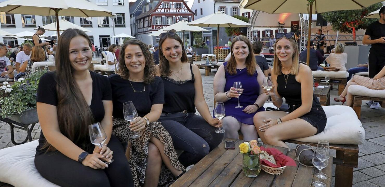 """""""Wein, Genuss, Musik"""" ist ...nen Abend in angenehmer Gesellschaft.     Foto: Christoph Breithaupt"""