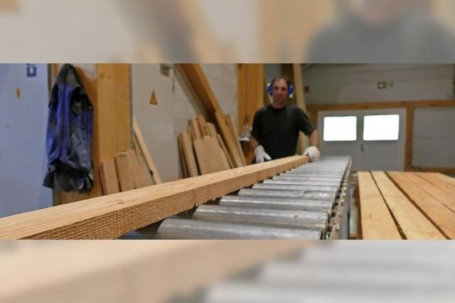 Ein Turbo für den Baustoff Holz