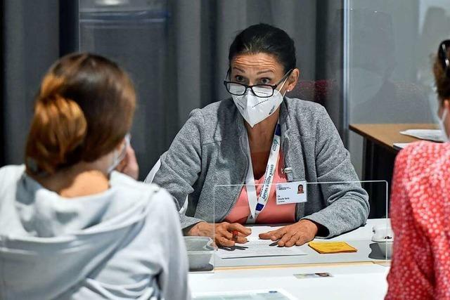Das Zentrale Impfzentrum in Freiburg impft jetzt auch Kinder und Jugendliche