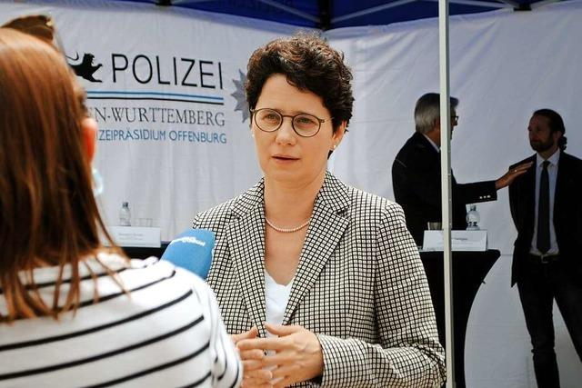 Neue Landesjustizministerin aus Lahr besucht Offenburg