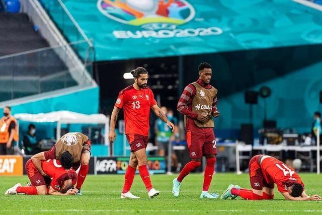 Aus der Traum für die Schweiz: Spanien siegt im Elfmeterschießen