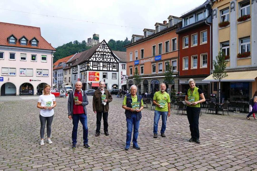 """Sie haben die """"Tour de Waldkirch...lrike Weiß (Zweitälerland-Tourismus).     Foto: Sylvia Sredniawa"""