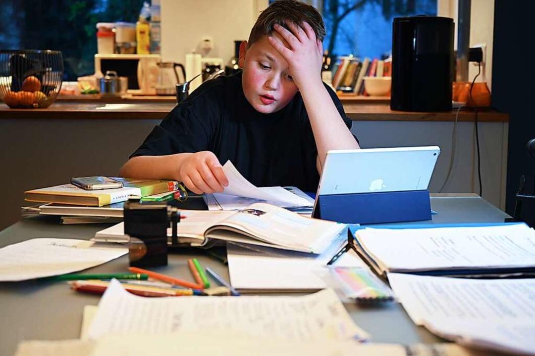 Viele Kinder sind derzeit frustriert. ... positiven Selbstwert  für Lernerfolg.  | Foto:  via www.imago-images.de